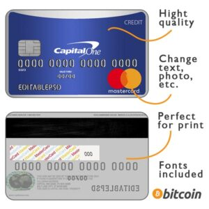 Credit card capital one psd
