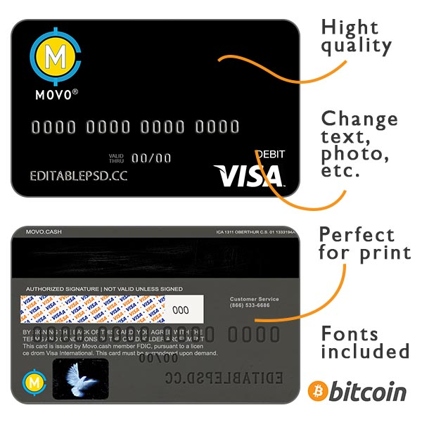 Credit card movo usa psd