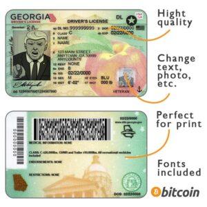 driver license georgia psd