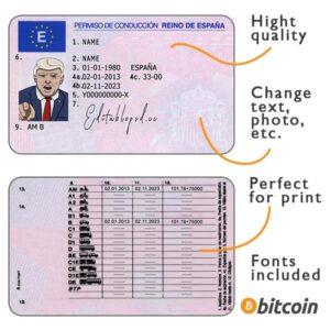 PSD driver license Espana