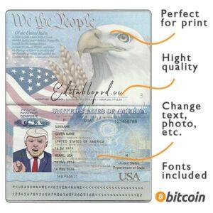 passport usa psd