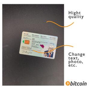 identity card belgium psd